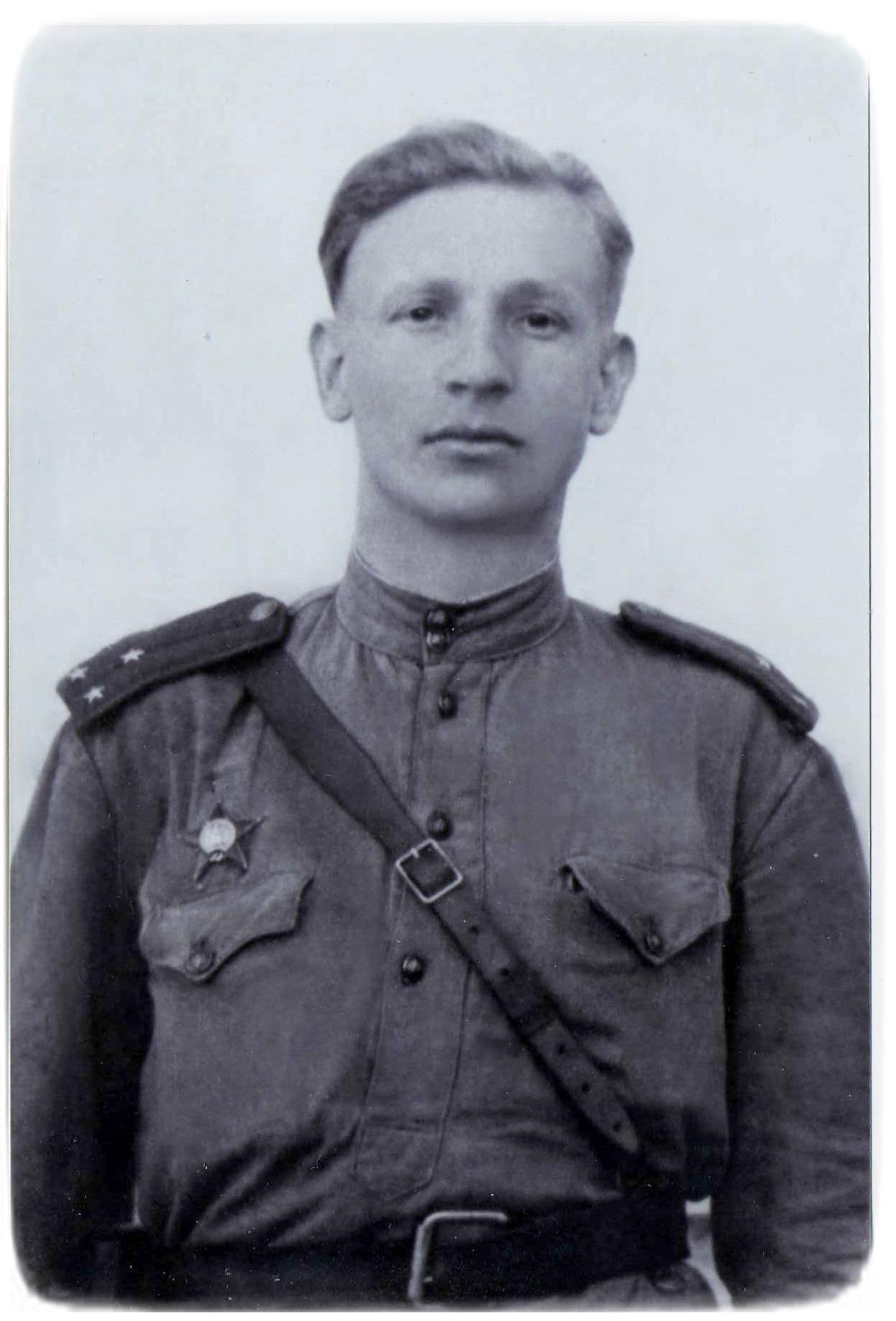 Петро Цюпенко, 1944 рік.