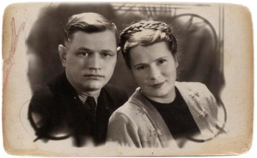 Олександр і Анастасія Мельникови. 1954 р.