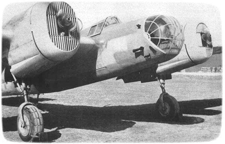 Літак СБ на авіабазі Сарабуз 1941 р